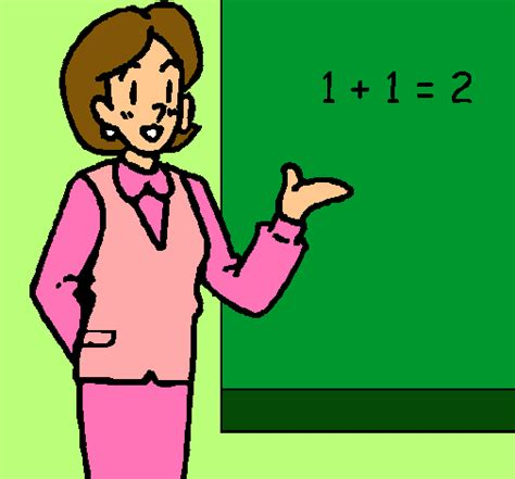 imagenes de kitty maestra dibujo de maestra de matem 225 ticas pintado por maestra en