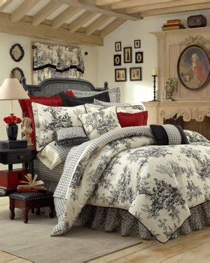 black toile bedding bouvier black white french toile comforter king 15 quot csk2950