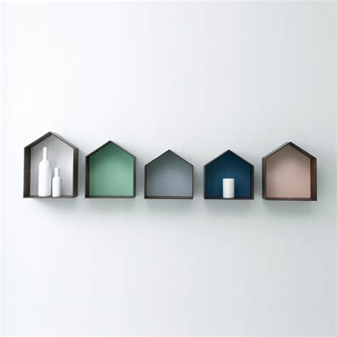 geo wall shelf designs