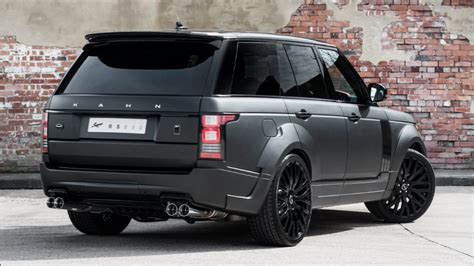 land rover kahn price the black prince kahn range rover in satin black