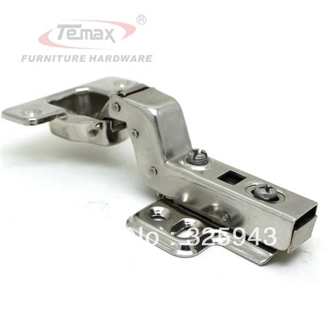Kitchen Cabinet Hinge Hardware New Ss304 Insert Hydraulic Brass Buffer Furniture Kitchen Cabinet Door Stainless Steel Hinge