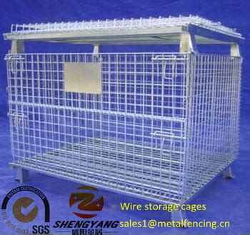 Corrosion In Systems For Storage And Transportation large heavy duty transport cage several layers stackable collapsible storage bins anti corrosion