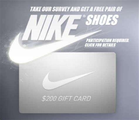 How To Get Free Nike Gift Cards - get a free nike shoes gift card