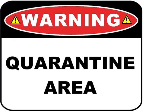 funny bedroom door signs funny sign quarantine area 9 x 11 5 laminated sign
