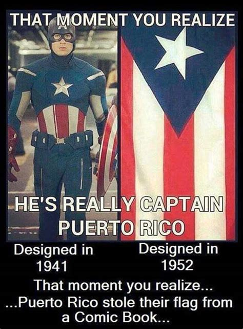 Puerto Rico Meme - captain puerto rico