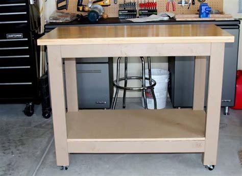 kreg jig bench choice workbench plans 4x4 legs working idea