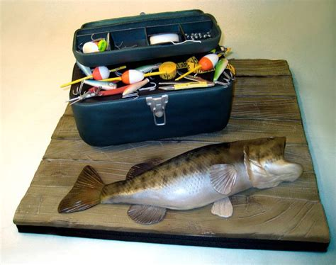 Wedding Tackle Box by Fish Tacklebox Charm City Cakes Duff Goldman Ace Of