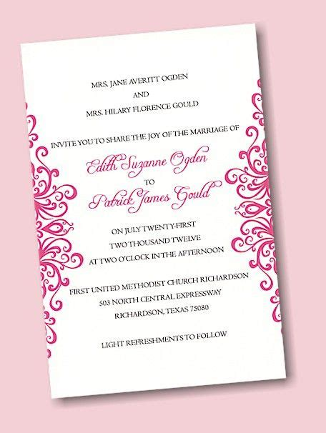 design your own wedding invitation 1000 images about create your own wedding invitations on
