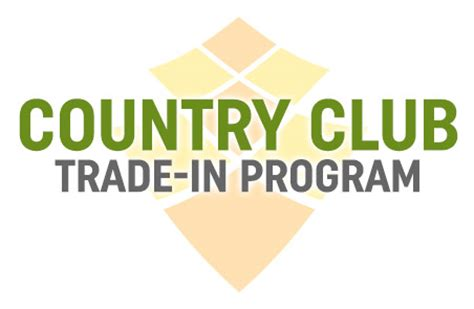 second swing trade in country club trade in program 2nd swing golf