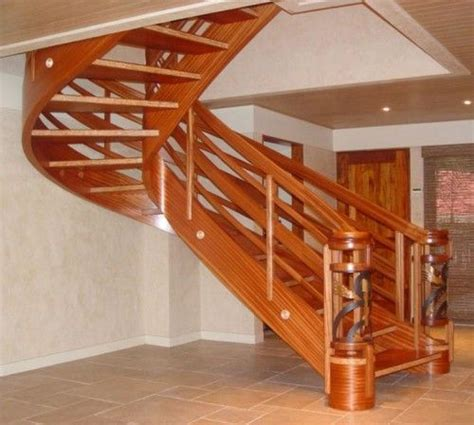 17 best ideas about wooden staircase design on