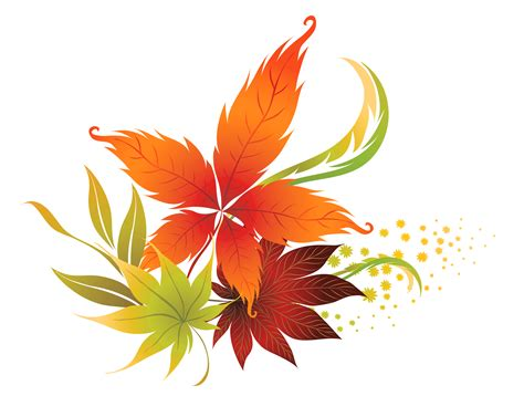 clipart autumn leaves leaves clipart transparent background pencil and in