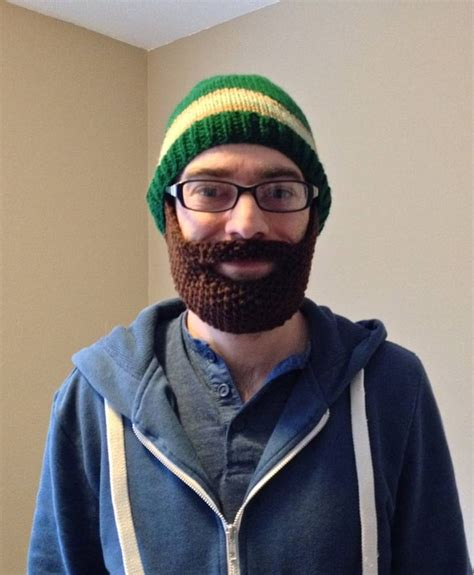 knitted beard hat free patterns for knit beard and hat lilbit michelevenlee