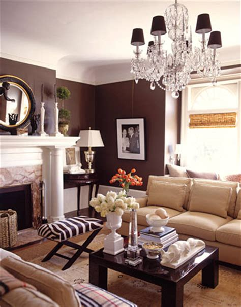 Brown Living Rooms by Brown Home Decor Ideas By Demattei And Wade