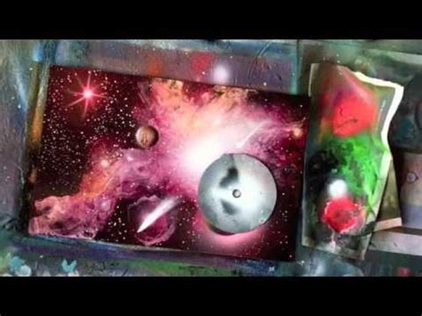 spray paint lessons tutorial spray paint tutorial galaxy effects and high gloss