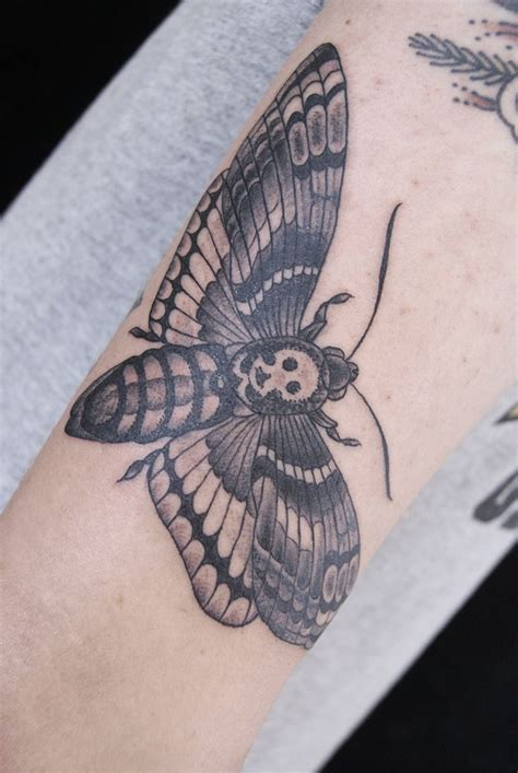 moth tattoo deaths hawk moth