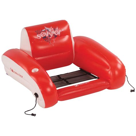 in water lounge chairs sevylor 174 water lounge chair 208179 floats lounges at