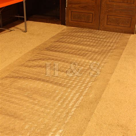 Mat Carpet by Heavy Duty Vinyl Plastic Carpet Protector Runner Office