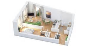 Single Bedroom by 40 More 1 Bedroom Home Floor Plans