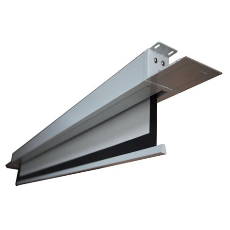 ceiling mounted electric projector screen high quality ceiling mount pvc material motorized tab