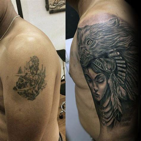 tattoo cover up guy 60 cover up tattoos for men concealed ink design ideas