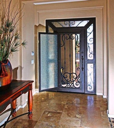 iron entry door   impression security doors modern