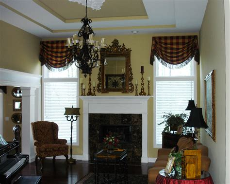 Tailored Valances For Living Room tailored valances for living room home design