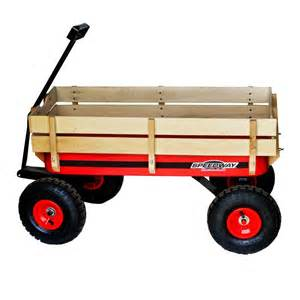 home depot wagon speedway 200 lb capacity all terrain wooden racer wagon