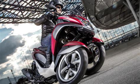 Dreirad Motorrad Roller by Yamaha Tricity 2014 Dreirad Scooter F 252 R Den Stadtverkehr