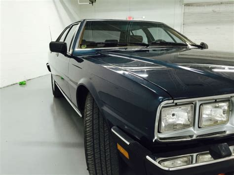 Maserati 30k 1986 Maserati Quattroporte Iii Collector Owned Only 30k