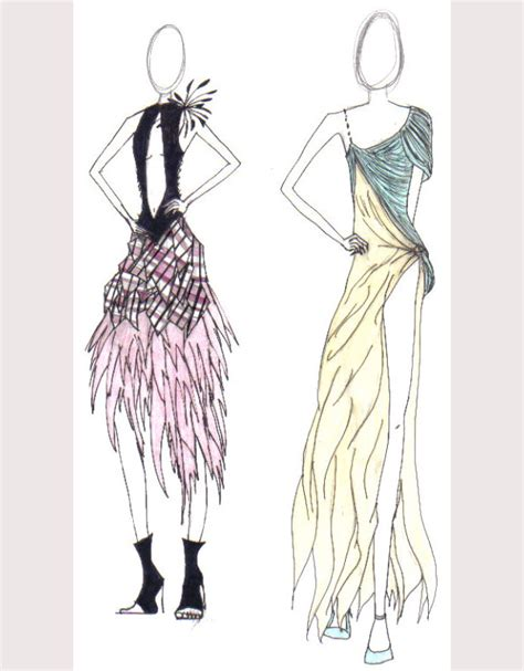 Sketches Clothes by 50 Best Fashion Design Sketches For Your Inspiration