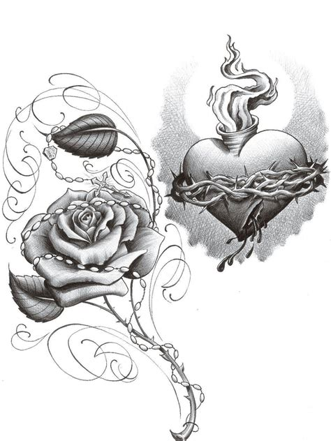 sacred heart tattoo design lowrider wallpapers wallpaper cave