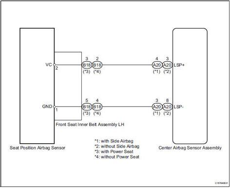 service manuals schematics 2003 toyota 4runner seat position control toyota airbag wiring diagram data wiring diagrams