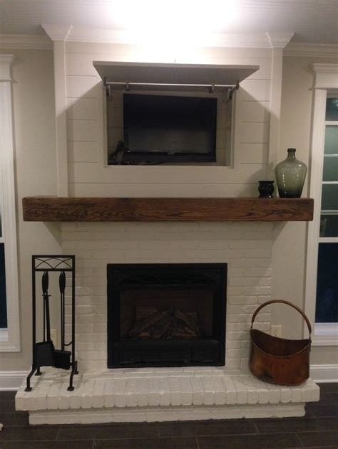 Shiplap Corner Fireplace 17 Best Images About Beam Mantels On Rustic