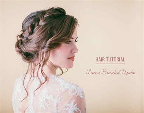 hairstyle favourites soft loose curls wedding hair tutorials hair tutorial loose braided updo