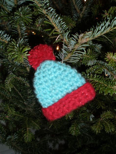 Squirrel Christmas Ornament - crochet christmas ornaments little nutbrown squirrel