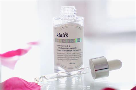 Serum Vitamin C Klairs korean skincare on trial missha essence klairs vitamin
