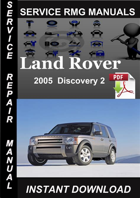 how to download repair manuals 2005 land rover discovery security system 2005 land rover discovery 2 service manual download download manu