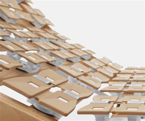 doghe letto reti da letto a doghe reti in legno e acciaio dorsal