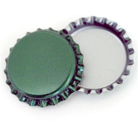 bottle cap green linerless bottle caps at bottle cap co