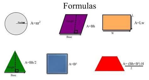 area formula image gallery math area formulas