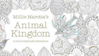 secret garden colouring book kmart millie marotta sells colouring books filled with animal