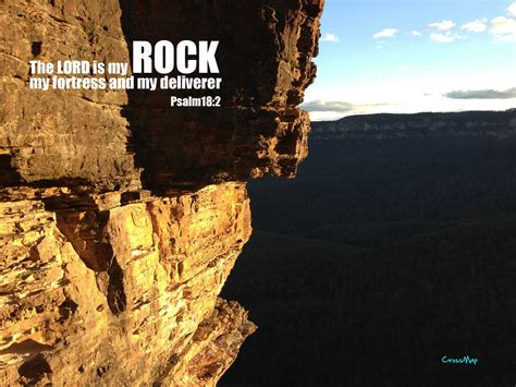 lord   rock psalm  bible verse wallpaper