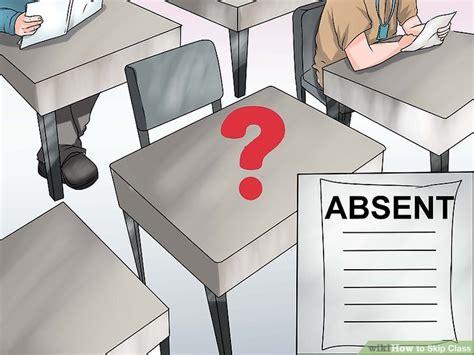 3 ways to skip class wikihow