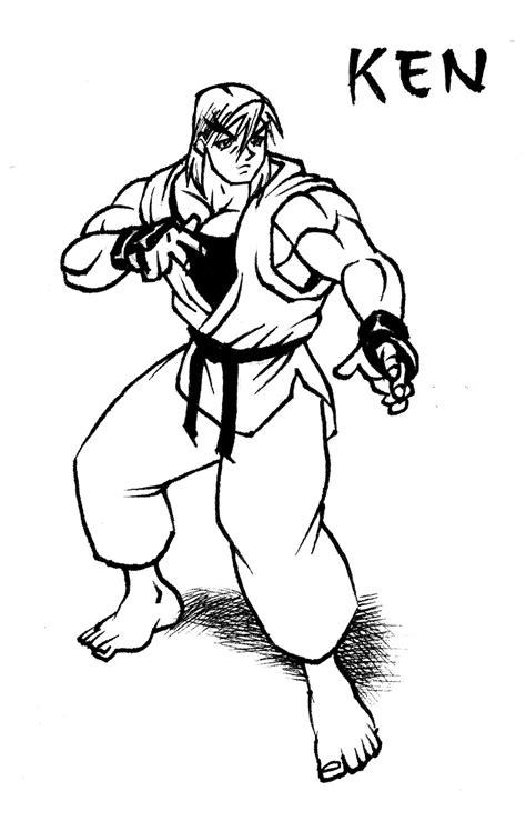 Ken Street Fighter Drawing by animegris on DeviantArt