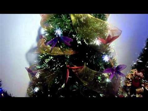 arboles de navidad fibra optica 2010 youtube