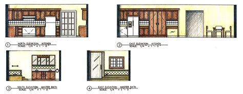 Ideas For Painting A Bathroom Floor And Elevation Renderings By Laurie Davis At Coroflot Com