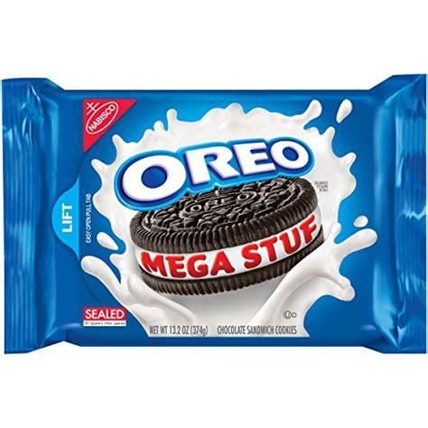 Oreo Import oreo mega stuf chocolate sandwich cookies 13 2 ounce