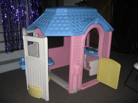 Little Tikes Vintage Victorian Cottage Playhouse Child Tikes Pink Cottage