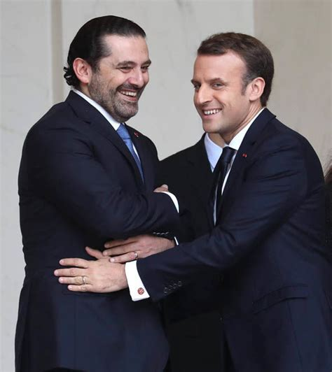 emmanuel macron hariri lebanon crisis former pm hariri to return to beirut after