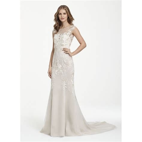 Wst 7760 One Sleeve Mermaid Maxi Dress ti adora by jlm couture 7760 floral embroidered mermaid wedding dress sale bridal